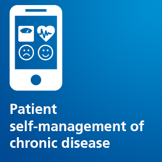 Patient self-management of chronic disease