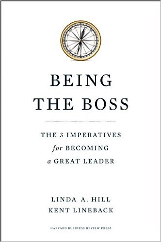 Being the Boss by Linda A. Hill and Kent Lineback
