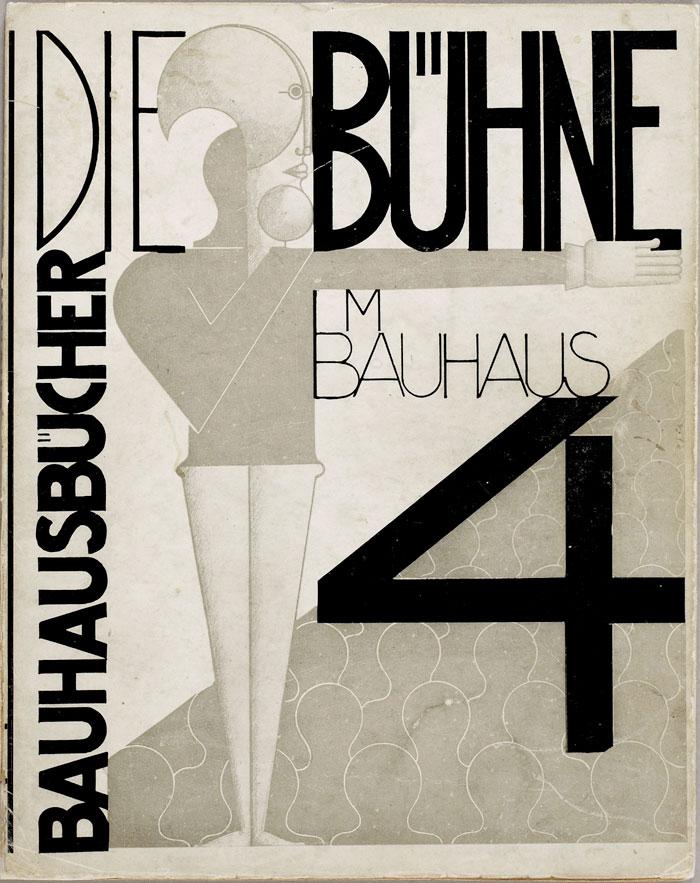 Die Bühne cover by Oskar Schlemmer