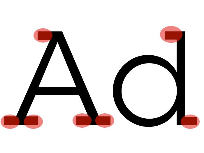 Slab serif example