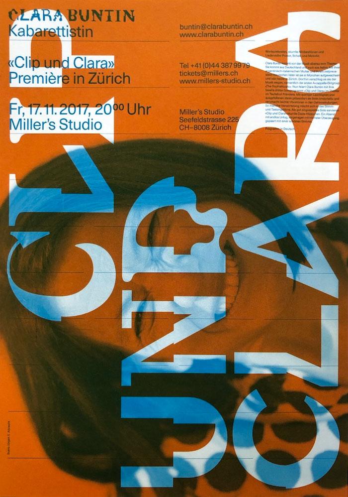 Image of Clara Buntin poster