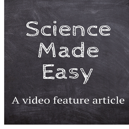 Science Made Easy video feature Parents PACK newsletter November 2019