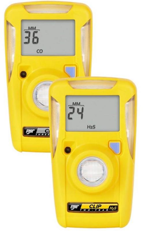 bw clip draagbare gasdetector