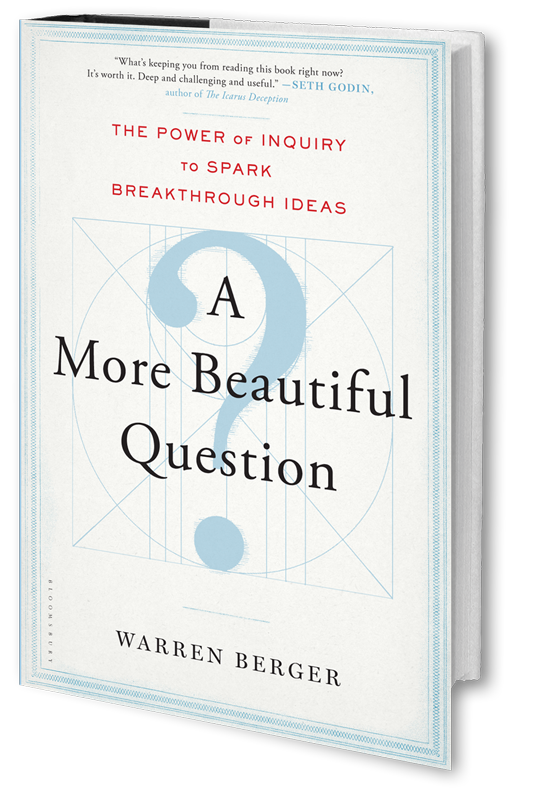A More Beautiful Question book cover