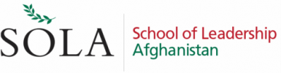 SOLA—School of Leadership, Afghanistan