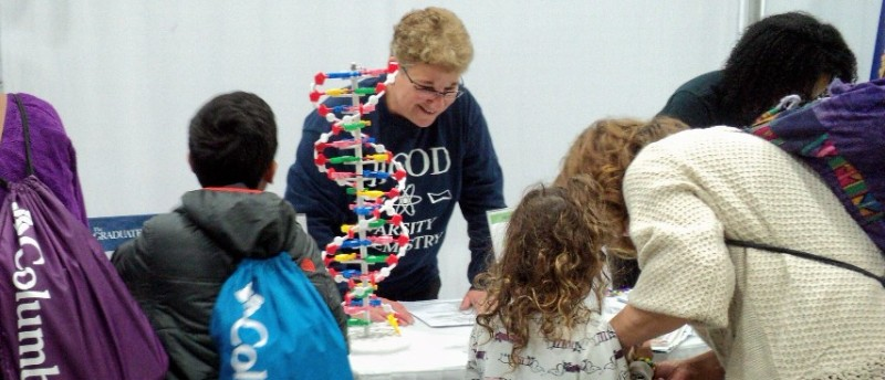 DNA Demo at the science and engineering festival