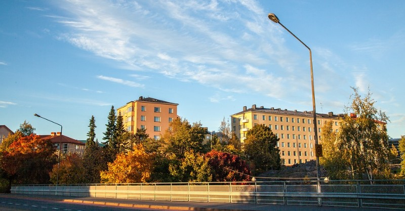 Autumn Colors in Helsinki