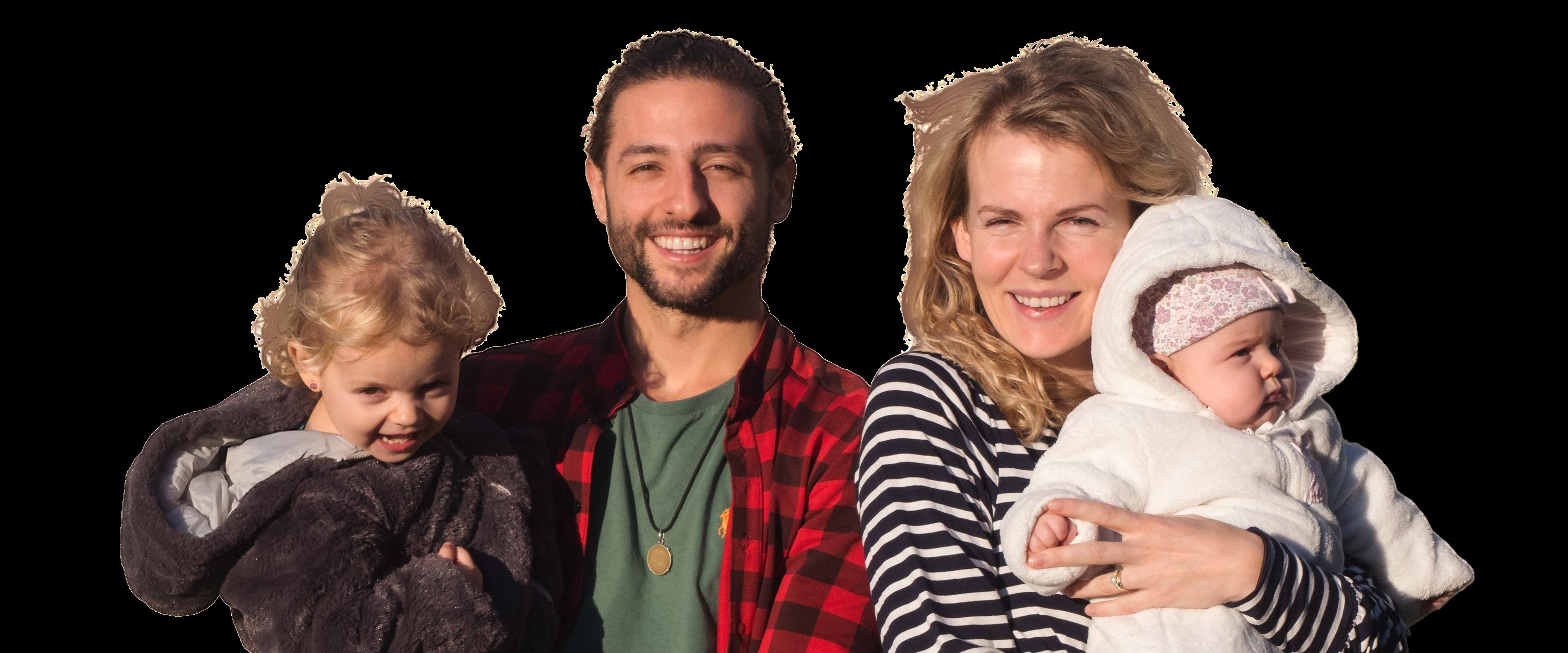 famille de la boutique de veilleuse