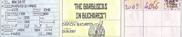 Tha Barbuscas in Bucharest Newsletter