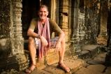 Jon at Angkor Wat, Cambodia