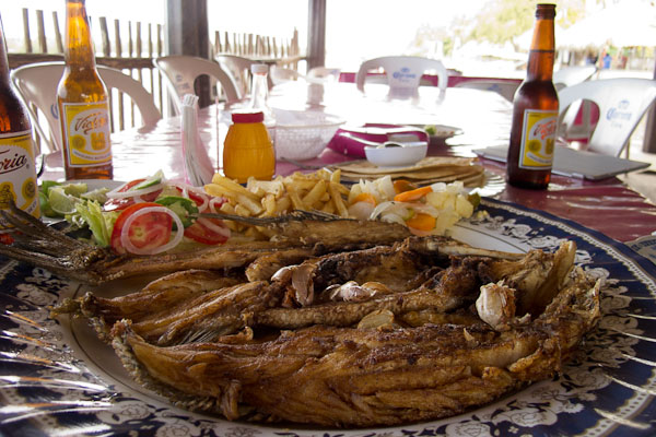 Fresh Fish Lunch at Pijijiapan