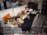 Darcy, Benson and Cilla