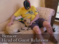 Head of Guest Relations - Benson and Kevin