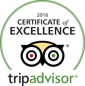 TripAdvisor Excellence Award