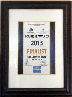 Durban Chamber of Commerce Award