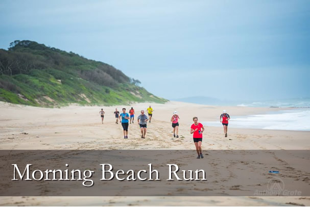 Morning Beach Run