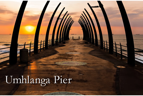The Beautiful Umhlanga Pier
