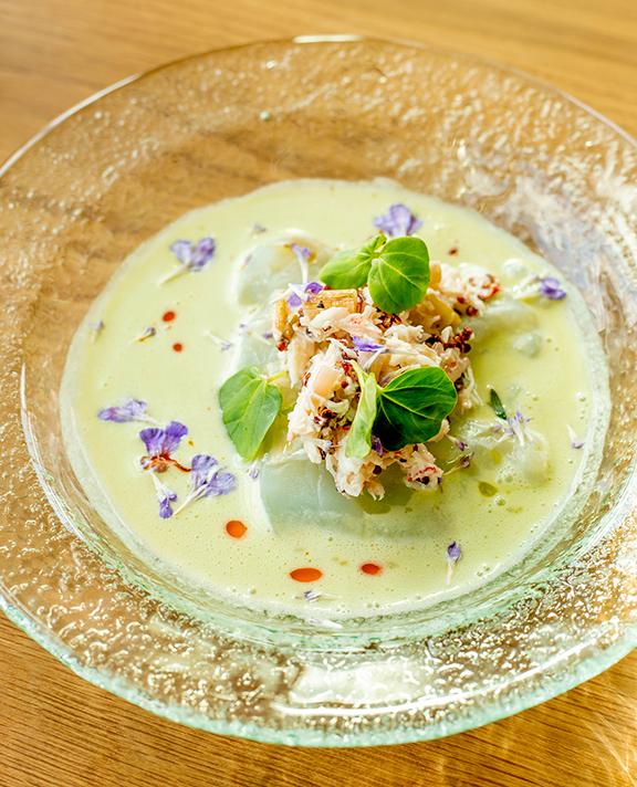 Beautiful Dish by Chef Stephanie Izard