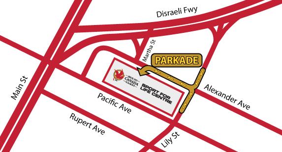 Parkade Entrance