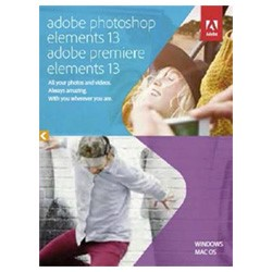 "Adobe 產品 ""Photoshop Elements 13 and Premiere Elements 13"",新品上架!"