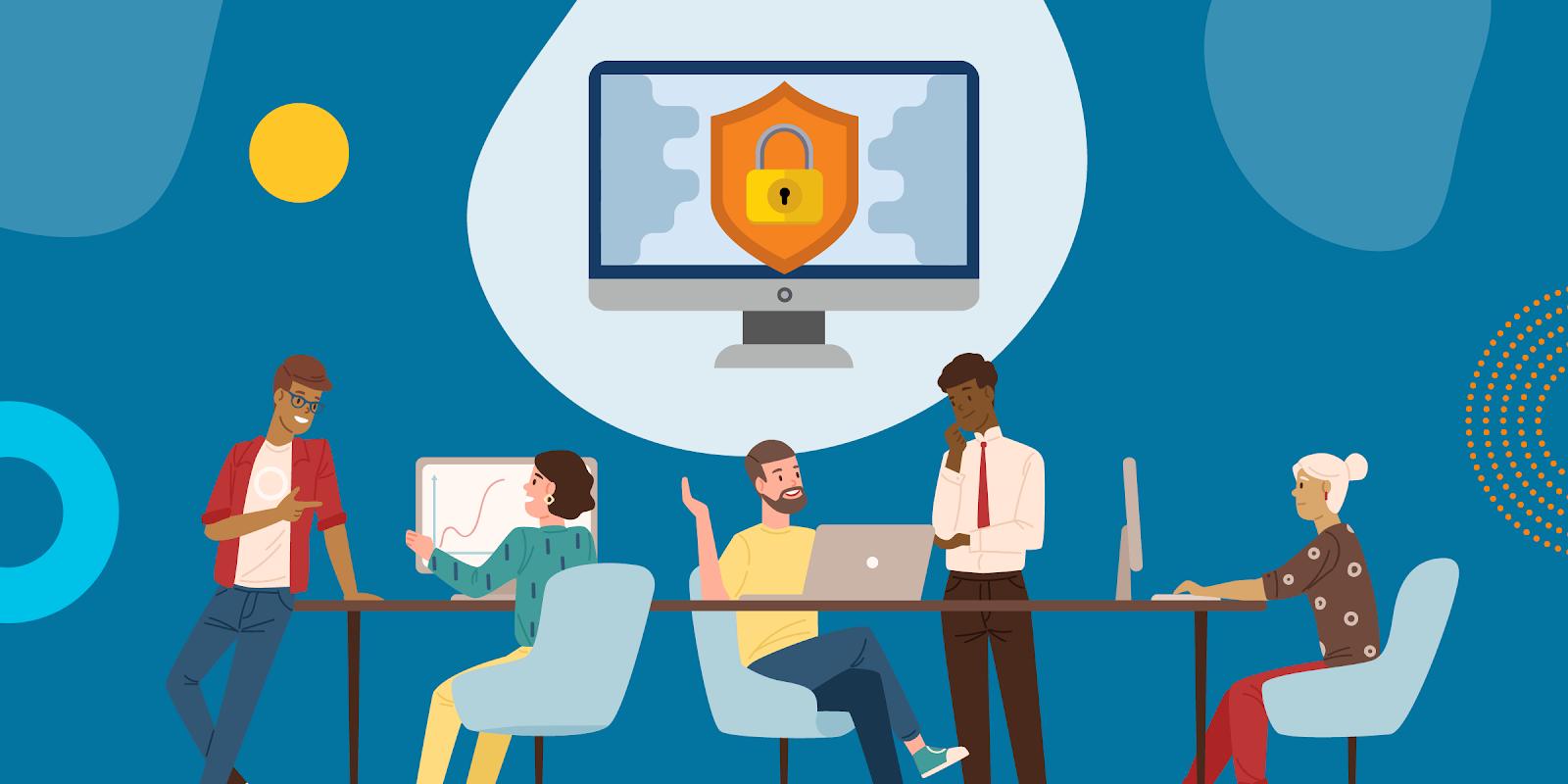 Office 365 的安全性功能可協助保障非營利組織的資料安全