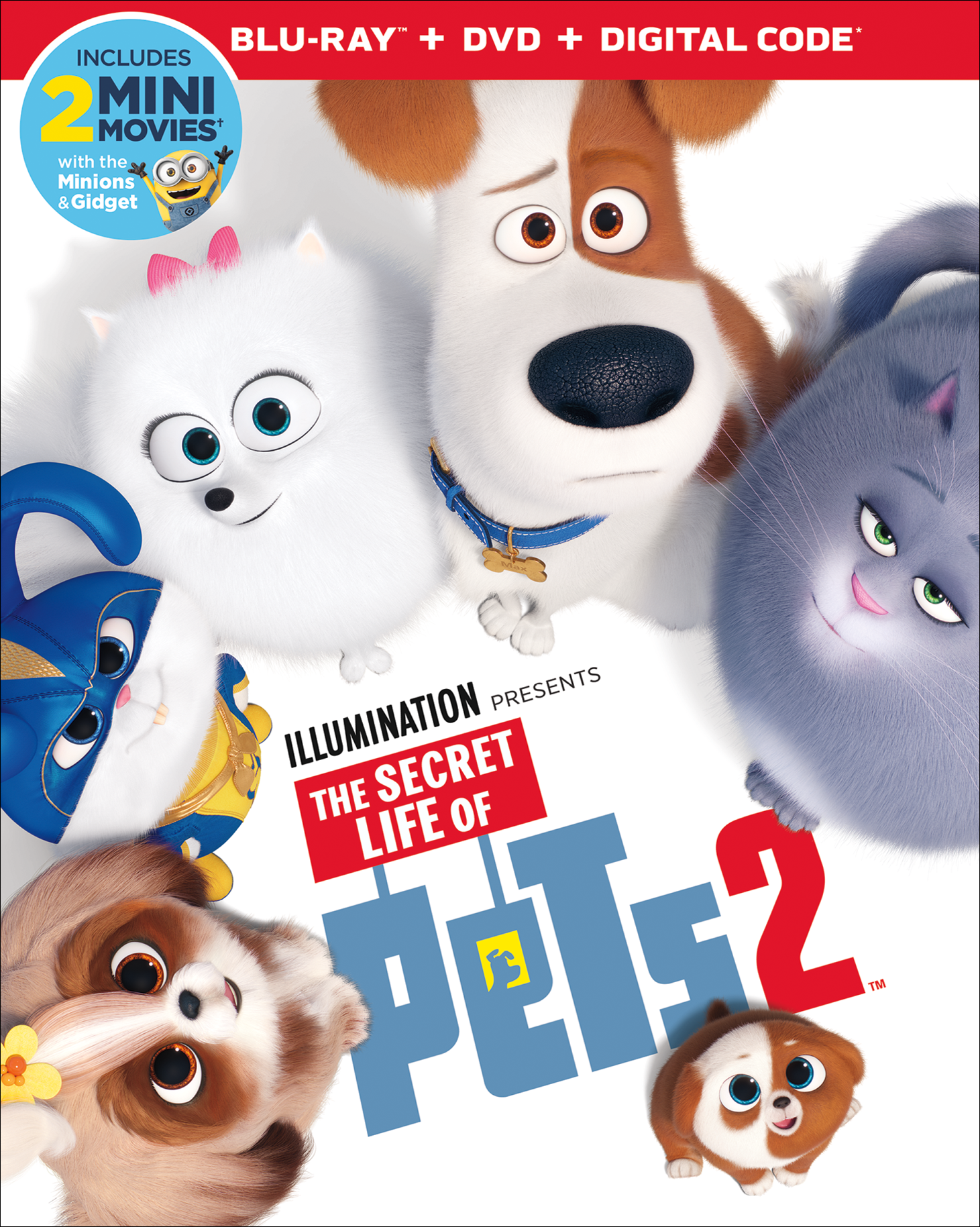 The Secret Life of Pets 2 on Bluray August 27th! {A Review + DIY Captain Snowball Ears}