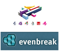 Channel 4 and Evenbreak logo's