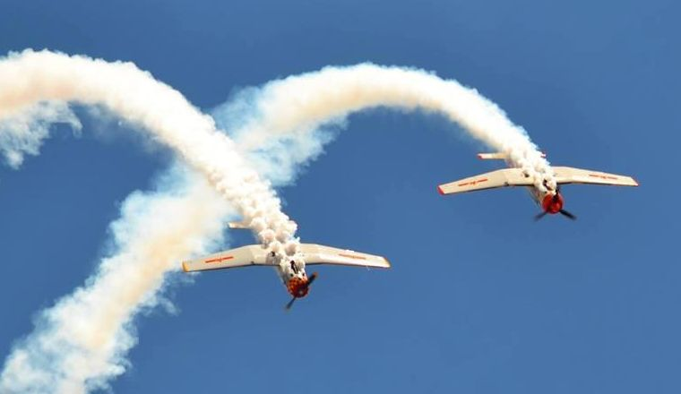 Russian Roolettes at the Wings Over Illawarra Air Show
