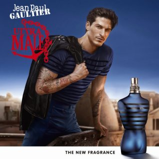 Jean Paul Gaultier has created a new intense Eau de Toilette, a masculine fragrance with a modern approach.  A power play between deliciousness and strength. The irresistible combination of dark lavender and woody vanilla.