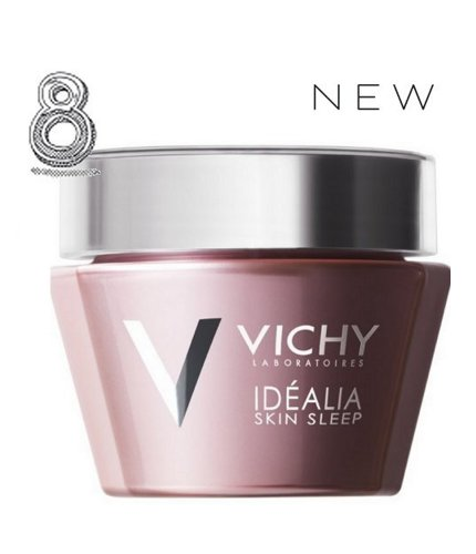 Vichy Idealia Skin Sleep has ingredients that are capable of stimulating the skin's deep sleep mechanisms to recreate and optimise their repairing effects. Glycyrrizic Acid which comes from Licorice root and reduces skin irritation and ensures hydrated and supple skin. Hyaluronic Acid for hydrated, bouncy skin. Caffeine to reduce fatigue and promote rested skin Vitamin B3 for an even and healthy skin tone repairing Oils(rich in omegas) provides supple and resistant skin Oh, and of course there's soothing Vichy Thermal Spa Water in Vichy Idealia Skin Sleep too. It's Paraben-free and hypoallergenic and suitable for ALL skin types.