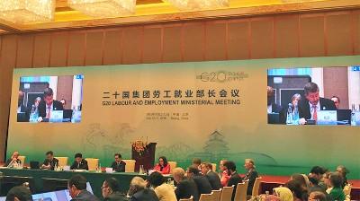 Reunion Ministerial del G20 y OIT en Beijing