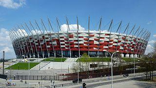 2012: Nationalstadion Warschau, Polen
