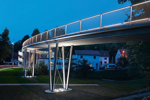 Lautlingen Footbridge (photo: Groz-Beckert KG)
