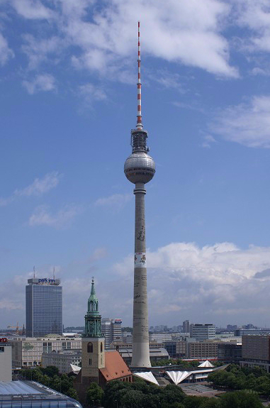 Berliner Fernsehturm (Foto: Nicolas Janberg)