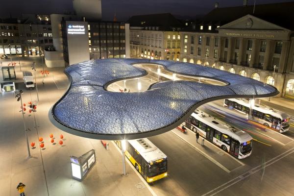 Bus Terminal, Aarau, Switzerland (photo: form-TL ingenieure)
