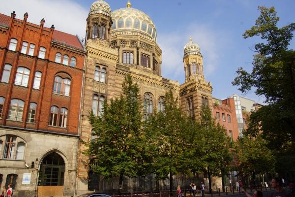 New Synagogue, Berlin (photo: Nicolas Janberg)