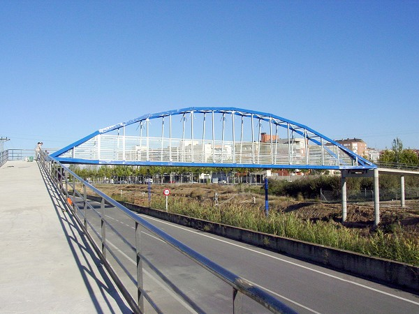 Lleida Footbridge (photo: Fibreline Composites A/S)