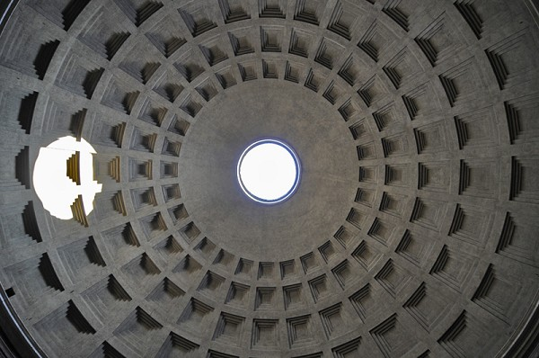 Cupola of the Pantheon in Rome (Photo: Manfred Weghuber)
