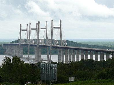 2006: Orinoquia-Brücke, Venezuela