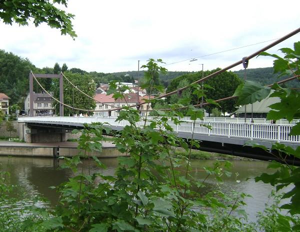 Mettlach Suspension Bridge (photo: Roland Nizet)