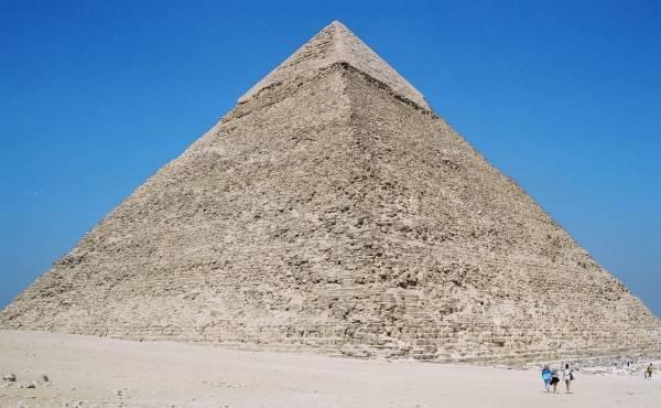 Pyramid of Chefren at Giza, Egypt (Photo: Nicolas Janberg)