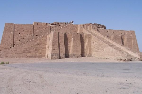 Ziggurat of Ur, Iraq (photo: Hardnfast / CC-BY-SA)