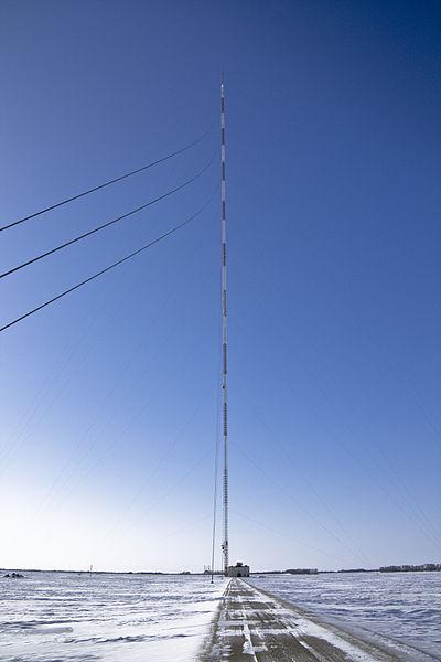 KVLY-Mast (Foto: Ratsbew/Wikimedia Commons; CC-BY-SA 3.0)