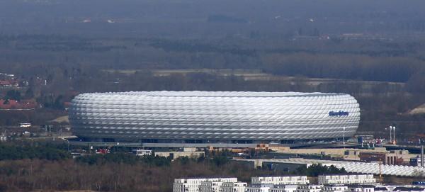 2005: Allianz Arena, Deutschland