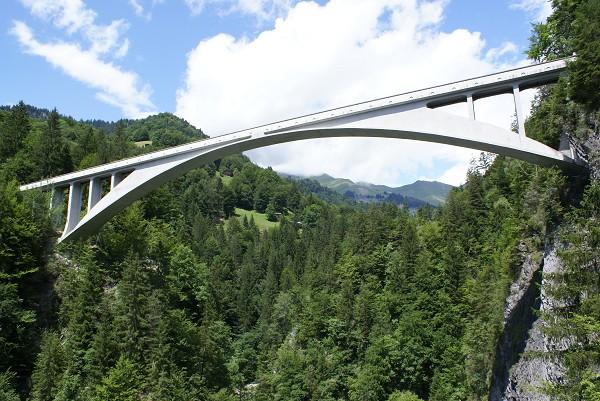 Salginatobelbrücke, Schiers