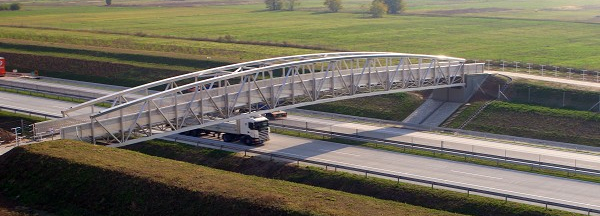 Csömör Footbridge (photo: pml Peter Maier Leichtbau GmbH)
