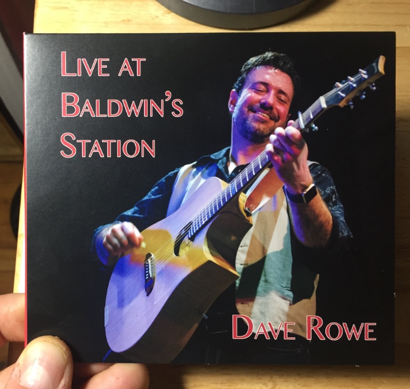 """Dave's New Live CD, """"Live at Baldwin's Station."""""""