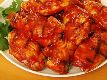 Grilled Korean Gochujang Wings