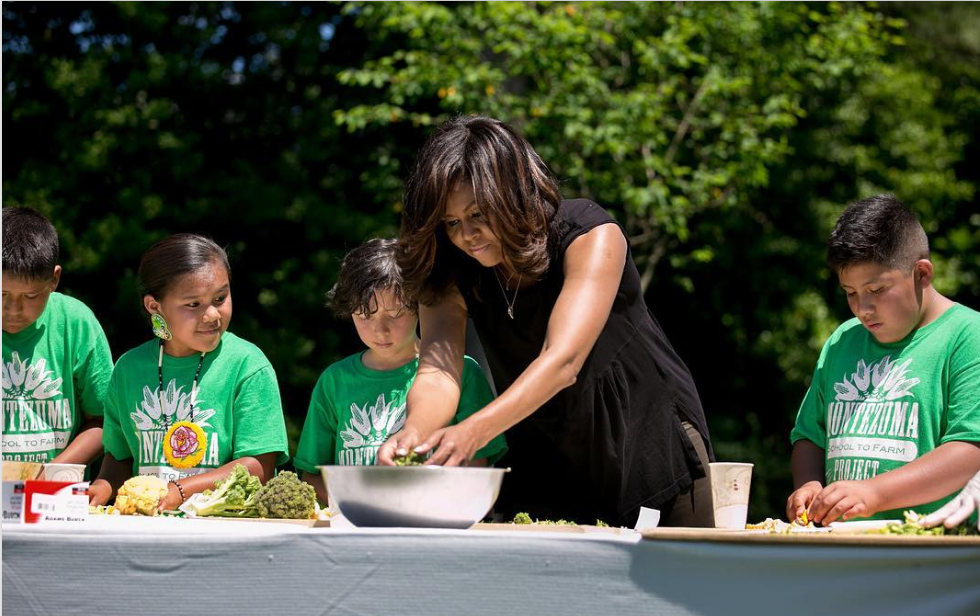 Cooking with the First Lady