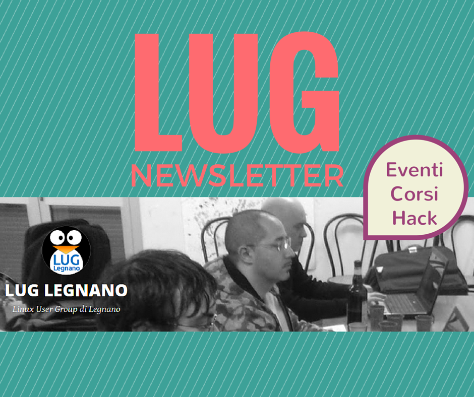 LUG Legnano newsletter